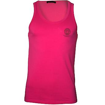 Versace iconic Tank Top Weste, Hot Pink