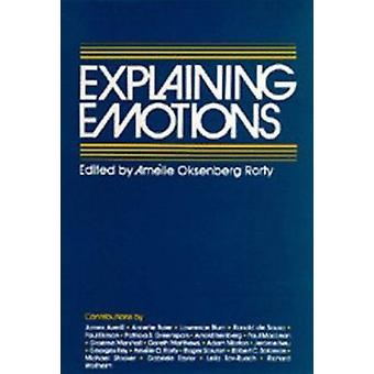 Explicando as emoções por Amélie Oksenberg Rorty - livro 9780520039216