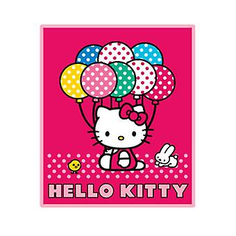 Blanket - Hello Kitty - Balloon New Fleece Throw New Gifts Toys 66836