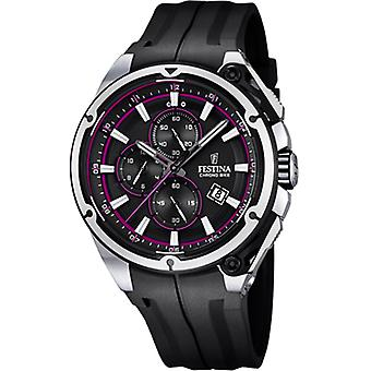 Festina Tour of France Watch for Quartz Analog Man with Silicone Bracelet F16882/6