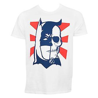 バットマン ツー フェイス スカル Tシャツ