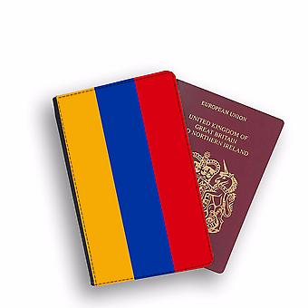 ARMENIA Flag Passport Holder Style Case Cover Protective Wallet Flags design