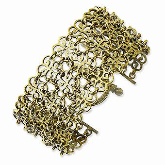 Gold tone Toggle Closure 7.5inch Bracelet Jewelry Gifts for Women