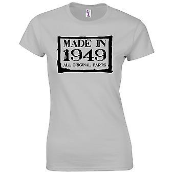 70. Geburtstagsgeschenke für Frauen ihre gemacht in 1949 T-Shirt