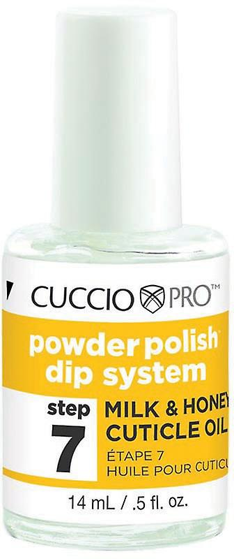 Cuccio Powder Polish Dip System Milk & Honey Cuticle Oil Step 7 14ml (5500)