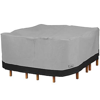 Square Patio Table and Chair Set Outdoor Furniture Cover - 100
