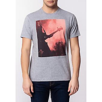 Merc PORTER, Men's Cotton T-Shirt with Large Music Poster Print