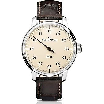 MeisterSinger Men's Watch Classic N°01 Hand winding AM3303_SG02