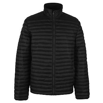 Soulcal Mens Gents Micro Bubble Funnel Neck Padded Winter Jacket Outerwear