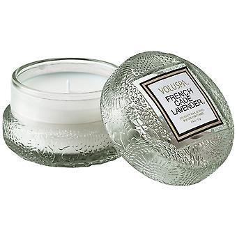 Voluspa Macaron Kerze Französisch Cade & Lavendel 51g
