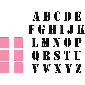 Marianne Design verzamelobjecten Stempel Alfabet sterven, roze