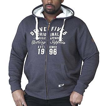 Duke D555 Mens Vadal Big King Size Full Zip Hoody Hoodie Jumper Sweater Top