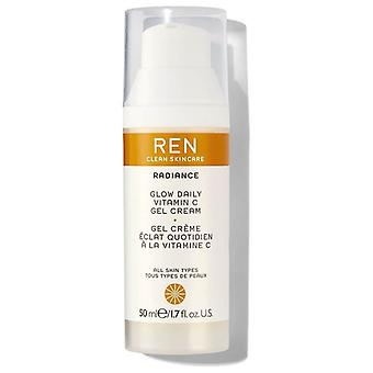 REN Glow dagligen vitamin C Gel Cream 50ml