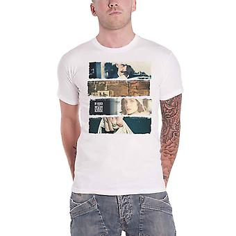 Peaky Blinders T Shirt Slices  TV Show Logo new Official Mens White