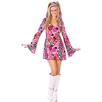 Groovy 60s Go Go Mod Retro Women Costume