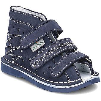 Danielki T105 T105GRANAT home all year infants shoes