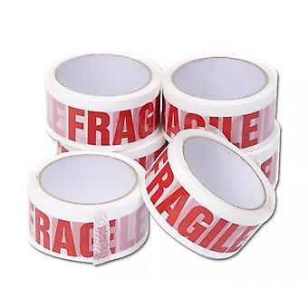 Low Noise Fragile Tape (Pack of 6)