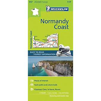 Normandy Coast  Zoom Map 117 by Michelin
