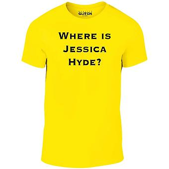 Men's where is jessica hyde t-shirt