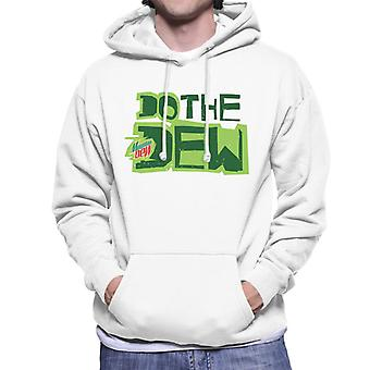 Mountain Dew Do The Dew Printed Style Men's Hooded Sweatshirt