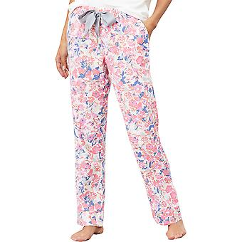 Joules Womens Snooze Tie Waist Elasticated Pyjama Bottoms