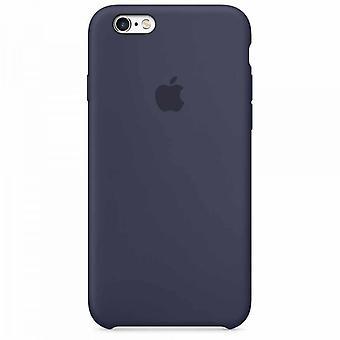 I sin ursprungliga förpackning Apple silikonhölje ärm Microfiber för iPhone 6 6s midnatt blå