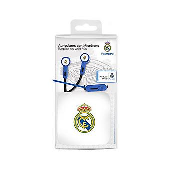 In ear headphones Real Madrid C.F. Blue