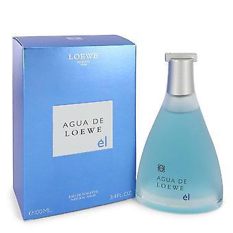 Agua de Loewe El Eau de Toilette spray av Loewe 492379 100 ml