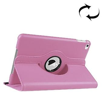 For iPad Mini 4 Case, Leather High-Quality Durable Shielding Cover,Pink