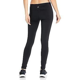 Starter Women's Standard High-Waisted Performance Legging, black, XL