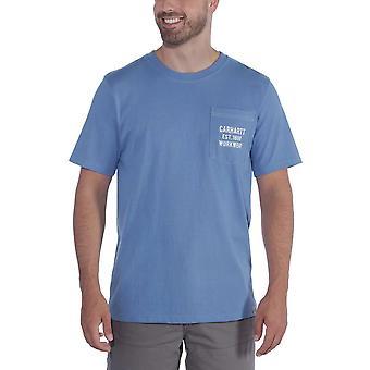 Carhartt Mens Bolso Peso Pesado Equipe De Pescoço T Camisa