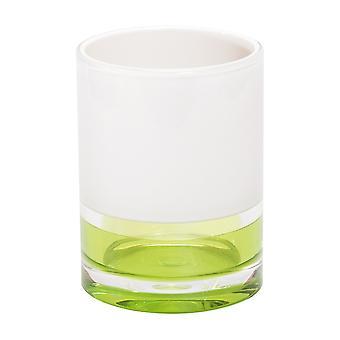 Tatkraft, Topaz Green - Plastglas