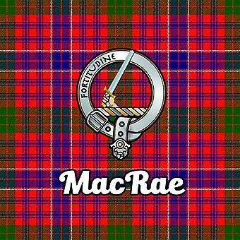 Art2Glass Tartan Clan Coaster - Macrae