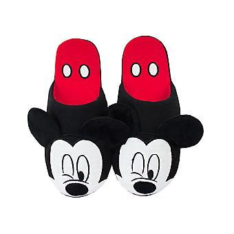 Disney Mickey Mouse Partial 3D Adults Women's Novelty House Slippers