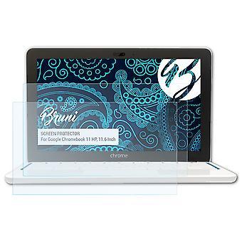 بروني 2x شاشة حامي متوافق مع جوجل كروم بوك 11 HP, 11.6 بوصة فيلم واقية