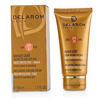 Anti ageing suncare face cream spf 30 for normal to sensitive skin 227222 50ml/1.7oz