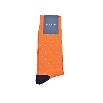 Gant D1. Contrast Dot Socks Arancia