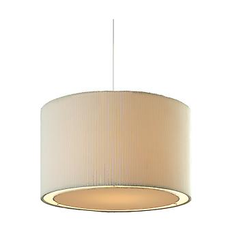 Firstlight Cyclic Modern Cream Drum Shade Ceiling Light