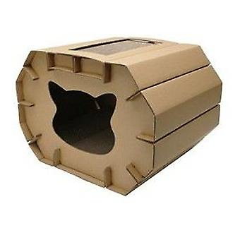 Hagen Love Cat Scratching House Cozy (Cats , Toys , Scratching Posts)
