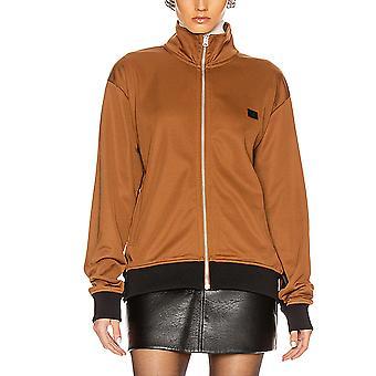 Acne Studios Ci002959c Women's Brown Viscose Sweatshirt