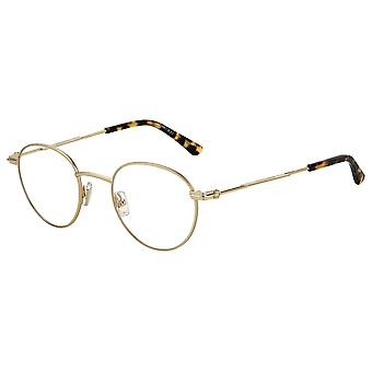 جيمي تشو JM004 06J الذهب هافانا نظارات