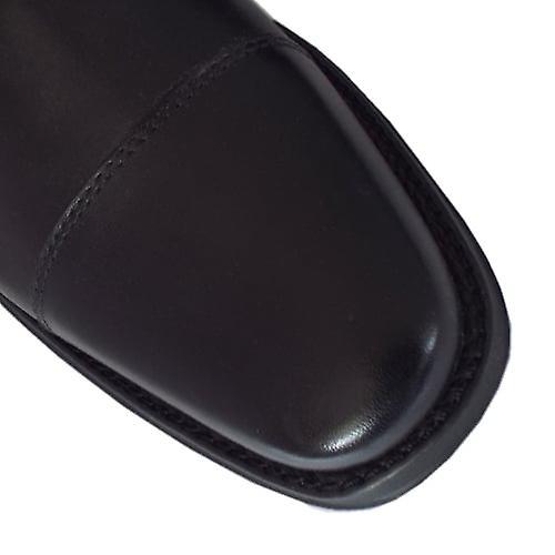 Chaussures intelligentes d'anatomie et co Fama Hommes-apos et s en cuir noir