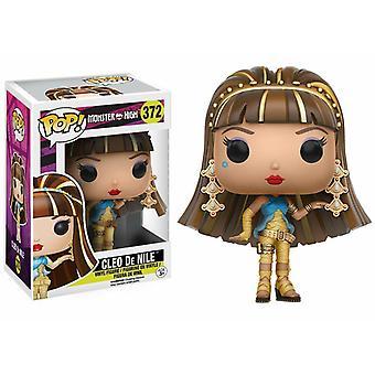 Funko Pop, ce faci? Vinil Monster High Cleo De Nile model de colectie figurine #372