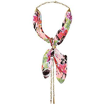 Collection XIIX Women's Tropical Floral Bandana Necklace,, White, Size One Size