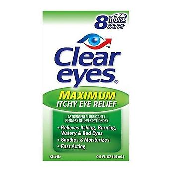 Clear eyes seasonal relief eye drops, 0.5 oz