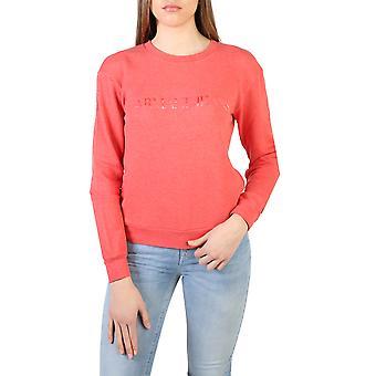 Armani Jeans Orjinal Kadın İlkbahar/Yaz Sweatshirt Kırmızı Renk - 57951