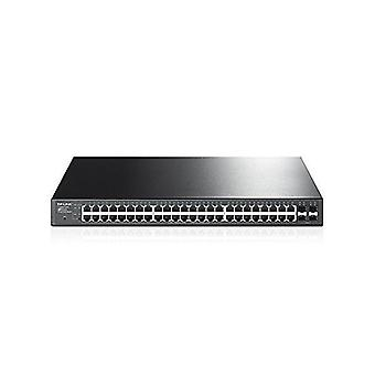Cabinet switch tp-link tl-sg2452p 48xgb 4xsfp poe+