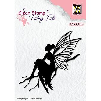 Nellie's Choice Clearstamp silhouette Fairy Tale Nr 6 FTCS006