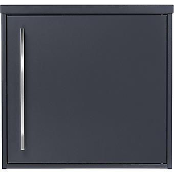 MOCAVI Box 104R Design boîte aux lettres anthracite (RAL 7016) avec poignée en acier inoxydable