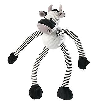 House Of Paws Cow Long Legs Dog Toy